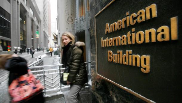 Amerika will Schlussstrich unter AIG-Rettungsaktion ziehen