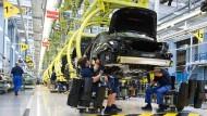 Die deutsche Industrie ist bärenstark