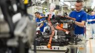 Begehrtes Ziel: Die VW-Produktion muss gegen Cyber-Angriffe gewappnet sein.