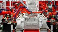 In Fremont steht das Hauptwerk von Tesla.