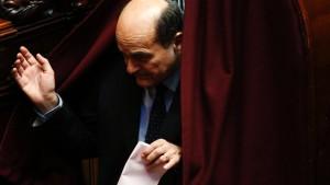 Bersani plant Rücktritt als Parteichef