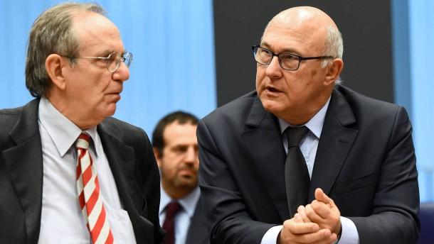 Gruppendruck auf Defizitsünder Frankreich