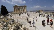 Auf der Akropolis im Sommer 2015: Eine Wiederholung des Schuldendramas aus dem vergangenen Jahr gibt es dieses Mal ziemlich sicher nicht.