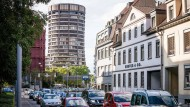Der BIZ-Turm in Basel