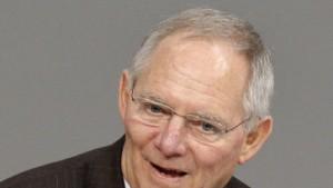 Schäuble droht mit Ausschluss aus dem Euro-Raum