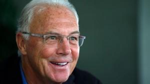 Beckenbauers Werbepatzer