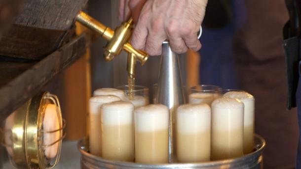 Bierabsatz sinkt 2020 auf Rekordtief