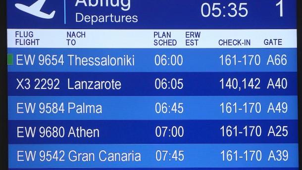 """Flüge nach Mallorca """"im Nu ausgebucht"""""""
