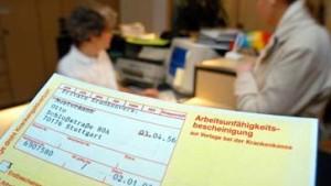 Ostdeutsche seltener krank als Westdeutsche