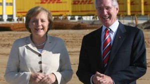 DHL-Ansiedlung in Leipzig soll 10.000 Stellen schaffen