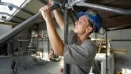 Echte Gutverdiener: Azubis auf dem Bau in Westdeutschland