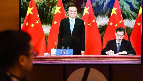 China etwas entgegensetzen