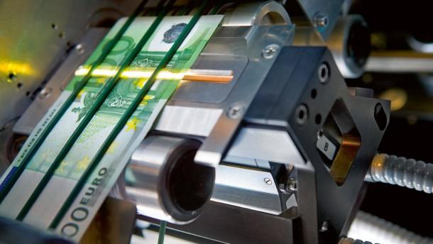 Die Euro-Scheine ziehen nach Leipzig