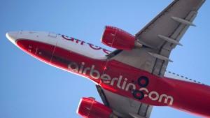 Air Berlin erleidet Rekordverlust