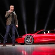 Braucht auch noch einen Fahrer: Der Roadster 2, den Musk kürzlich vorstellte