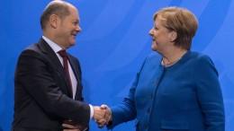 Wie viel Merkel steckt in Scholz?