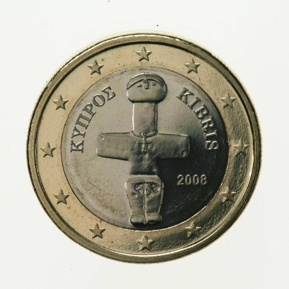 Euro-Münze aus Zypern