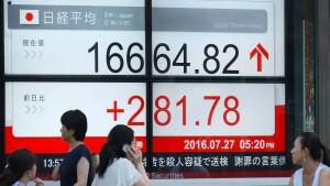 Japan will 240 Milliarden Euro für die Konjunktur ausgeben