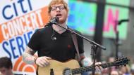 Kommerziell erfolgreichster Künstler der Welt: Ed Sheeran
