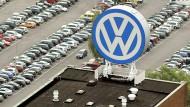 Volkswagen - hilflos und in Angst erstarrt