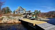 Keine Rarität: Häuser in Wasserlage sind in Kanada erschwinglich.