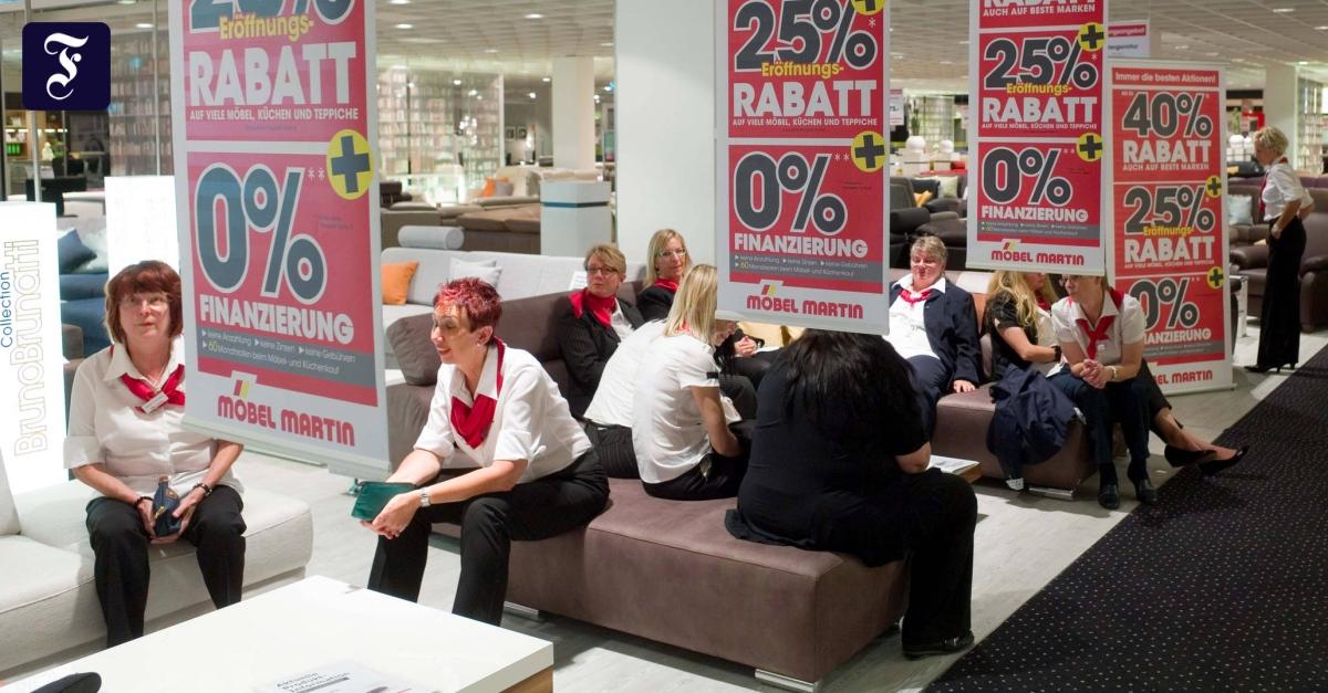 Harter Verdrängungswettbewerb Die Möbelkonzerne Werden Immer