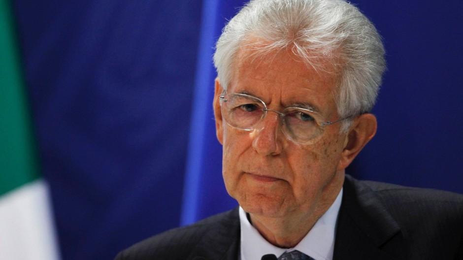 Drängt Berlin zu mehr Engagement: Italiens Ministerpräsident Mario Monti