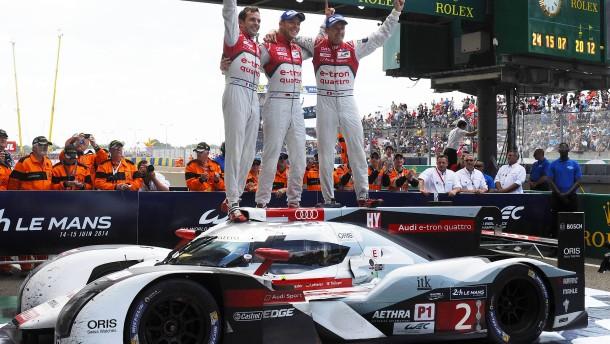 Audi fährt jetzt elektrisch Rennen