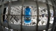 Verkaufsrückschlag für VW in Deutschland
