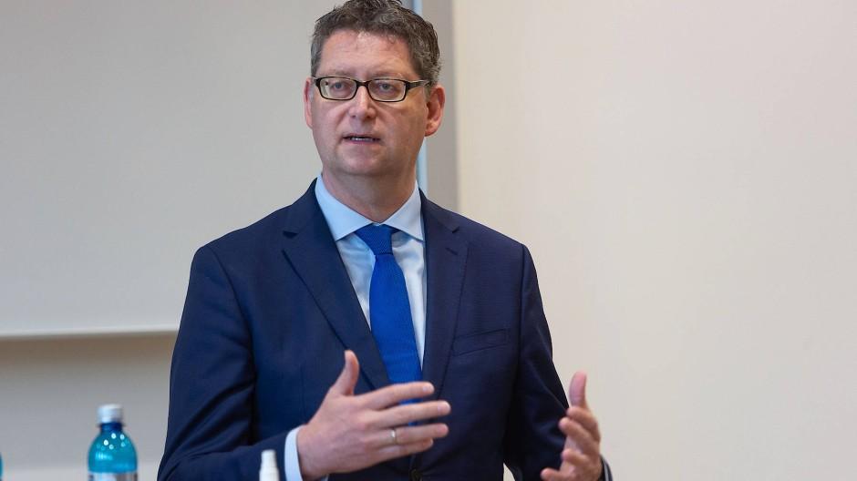 Ein Wahl-Wunder in Hessen scheint unwahrscheinlich: SPD-Spitzenmann Thorsten Schäfer-Gümbel.