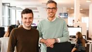 Timo Fischer (links) und Johannes Roggendorf, die Gründer von Medwing