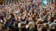 Von wegen entspannte Zeit voller Spaß und Party: Immer mehr Studenten fühlen sich sehr gestresst.