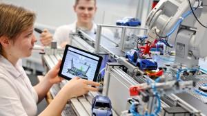 Hohe Arbeitskosten in der deutschen Industrie
