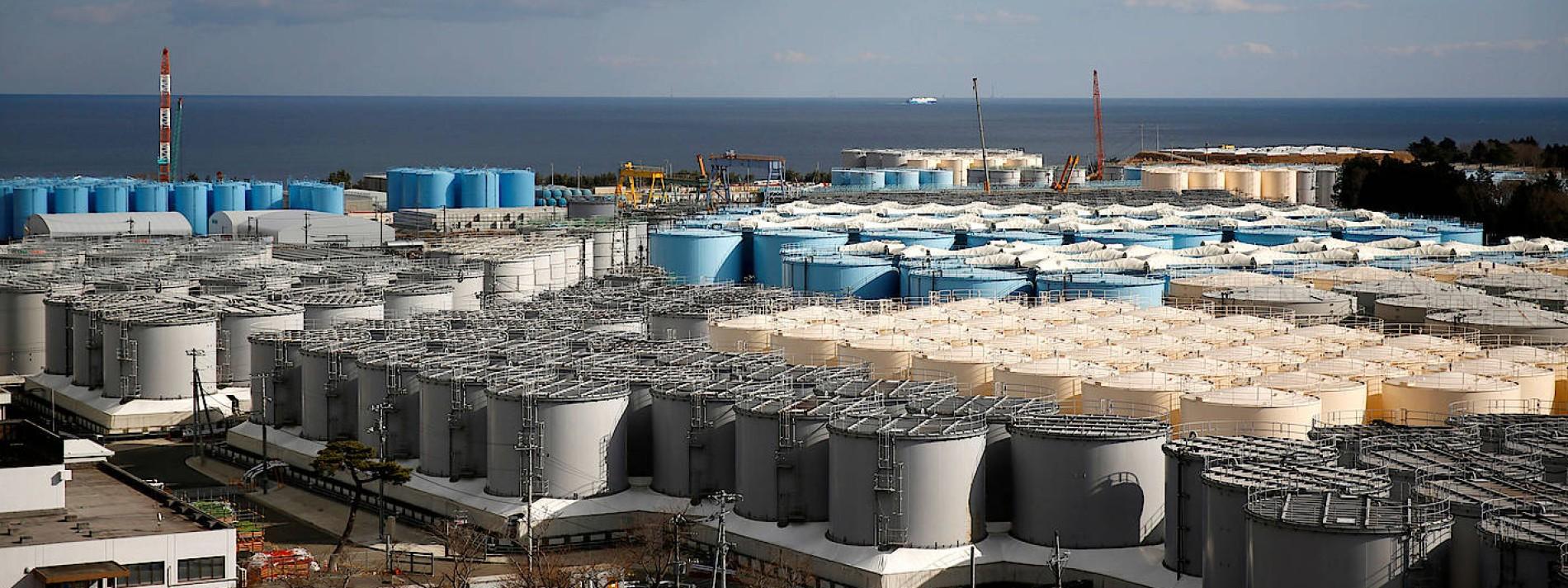 Japan will Fukushima-Wasser in den Pazifik ablassen