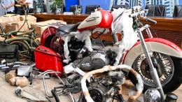 Chef der Fluggesellschaft Garuda stolpert über Harley-Schmuggel