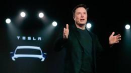 Elon Musk kriegt die Kurve