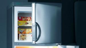 Der Kühlschrank macht Lebensmitteln Beine