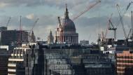 Die Londoner Finanzbranche ist gespalten in ihrer Meinung zu einem möglichen Brexit.