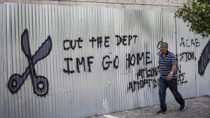 IWF hält Schuldenerlass für Griechenland für unumgänglich