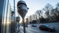 Hier fing die Diskussion zu Fahrverboten an: die prominente Kreuzung Neckartor in Stuttgart