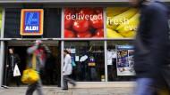 Rüffel für Aldi-Werbespots in England