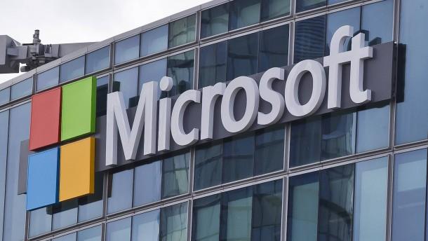 Hacker greifen Microsoft an