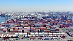 Versinken in der Containerflut