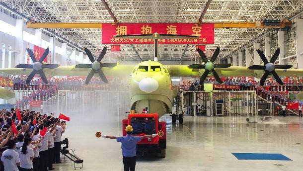 China entwickelt weltgrößtes Wasserflugzeug