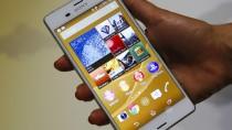 Sony rechnet mit niedrigeren Erlösen im Smartphone-Geschäft.