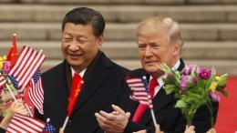 Amerikas Handelsdefizit mit China wächst