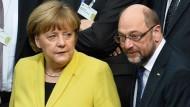 Merkel oder Schulz? Mit wem fährt der Steuerzahler am besten.