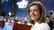 Reformerin: die spanische Arbeitsministerin Fatima Banez