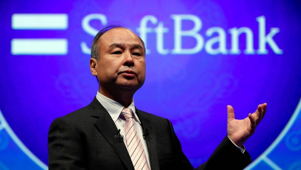Softbanks Aktienkurs sinkt stark