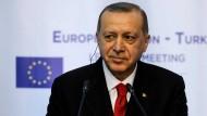 Wenn es ums Wirtschaftliche geht, braucht er die EU: Der türkische Präsident Recep Tayyip Erdogan